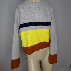 🆕 garage - horizontal stripe sweater